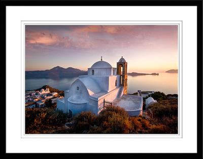 8. Church of Agia Haralmbos, Milos